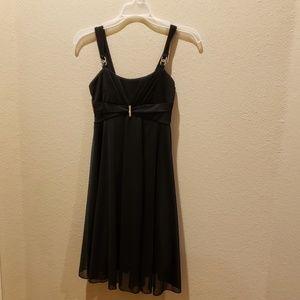 Dress girls black party dress